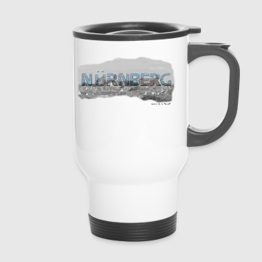 Nuremberg from favorite region (skyline) - Travel Mug