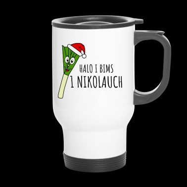 Halo I bims 1 Nikolauch - Travel Mug