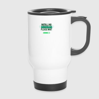 Installing Muscles - Travel Mug