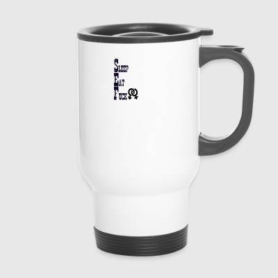 Sleep comer y follar - Taza termo