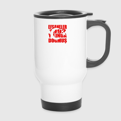 Tuerkiye Turkey legends born 1992 - Travel Mug