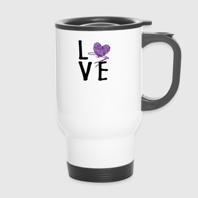 Love Knitting - Travel Mug
