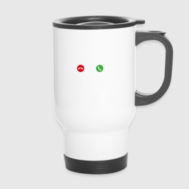 Call Mobile Phone - Travel Mug