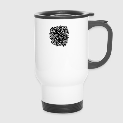 JAH pattern 1 - Travel Mug