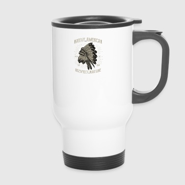Native American 1 2 - Travel Mug
