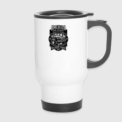 Runs On Diesel2 - Travel Mug