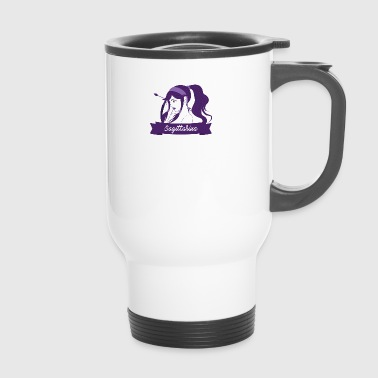 Signs of the Zodiac Sagittarius - Travel Mug