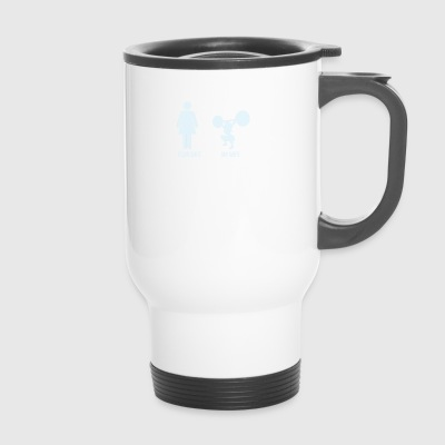 Comparison: Your Wife vs. My Wife - Travel Mug