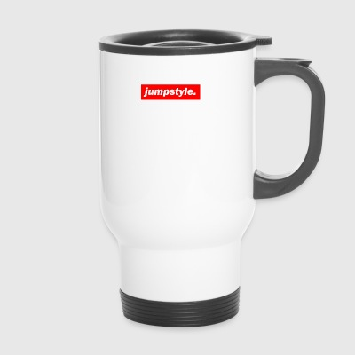 techno mischpult basse rouge bpm jumpstyle - Mug thermos