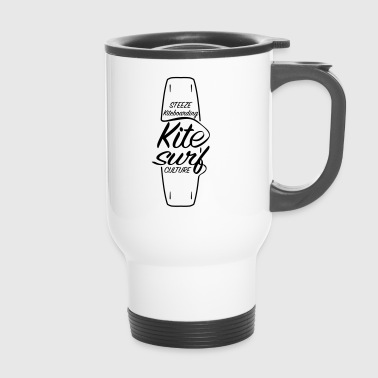 Kitesurf Culture Board Design - Travel Mug