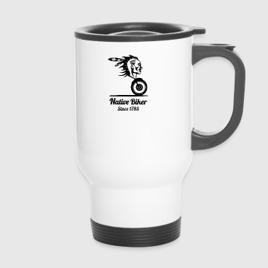 nativebiker blak - Mug thermos