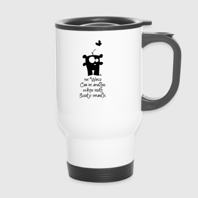 Incroyable monde *** - Mug thermos