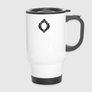 black mirror frame by berrykissed - Travel Mug