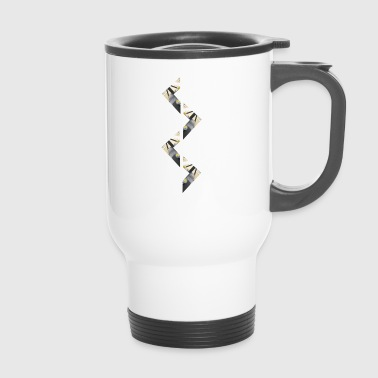 zigzag - Travel Mug
