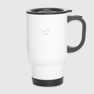 cat by shirt ecstasy - Travel Mug