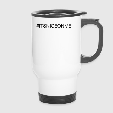 #itsniceonme uomo ecologic - Tazza termica