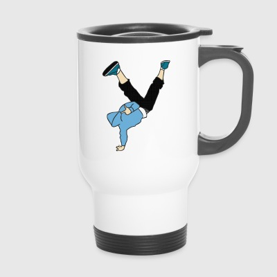 Break dance dancer - Travel Mug