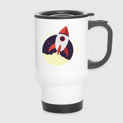i believe i can fly - Travel Mug