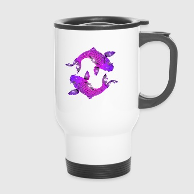 Koi fish - Travel Mug