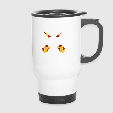 Pizza Amour diable Fast food cadeau alimentaire - Mug thermos