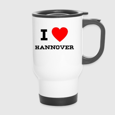 i love hannover - Thermobecher