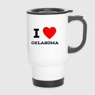 i love Oklahoma - Thermobecher