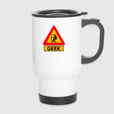 Attention Geek ! - Mug thermos