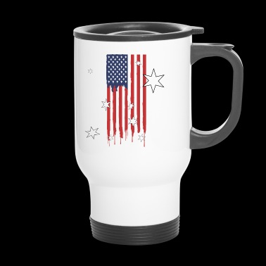 Flagga Amerika Patriot Gift - Termosmugg