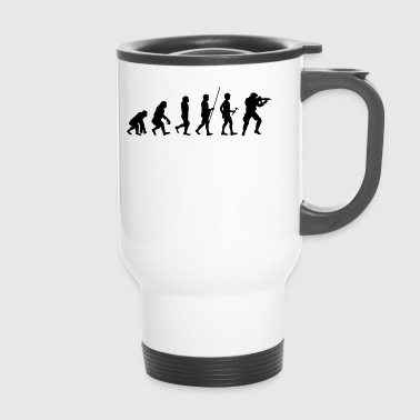 Evolution to the Soldier T-Shirt Gift - Travel Mug