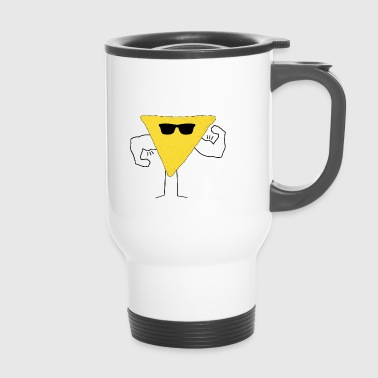 Nacho Man Macho Muscles Gift Gift Idea - Travel Mug