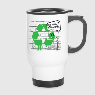 43 GUYS WALK INTO A BAR - Travel Mug