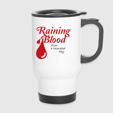 Camisa Raining Blood de Slayer - Taza termo