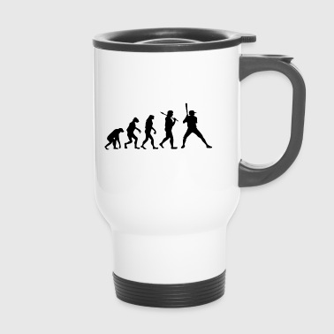 Evolution Baseball Sport Gift Player - Travel Mug