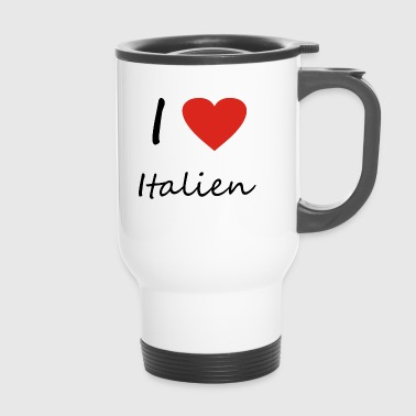 Italy heart gift idea - Travel Mug
