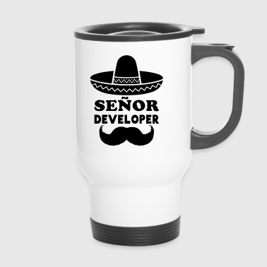 Señor Developer (Senior Developer) - Travel Mug