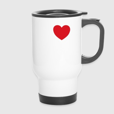 I love my mobile saying gift idea - Travel Mug