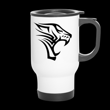 Tattoo Tigre Tribal - Taza termo