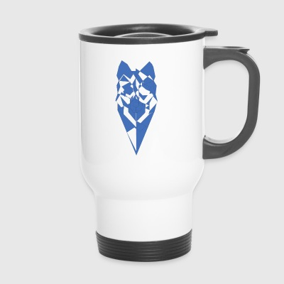 pixel Wolf - Travel Mug