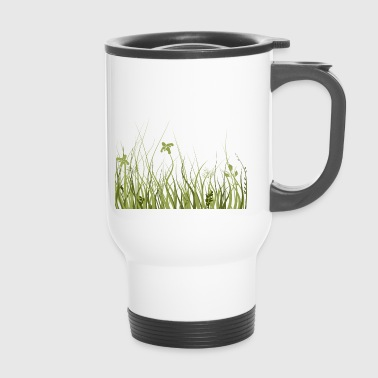 Green meadow - Travel Mug