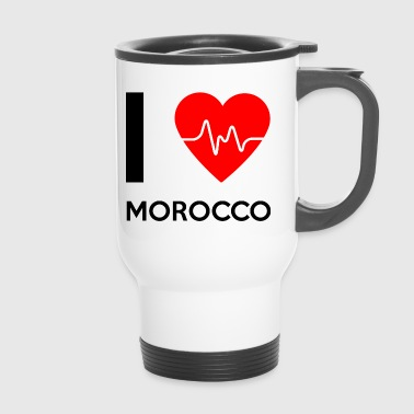 I Love Morocco - Ich liebe Morocco - Thermobecher