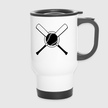 Baseball Crossed - Thermobecher