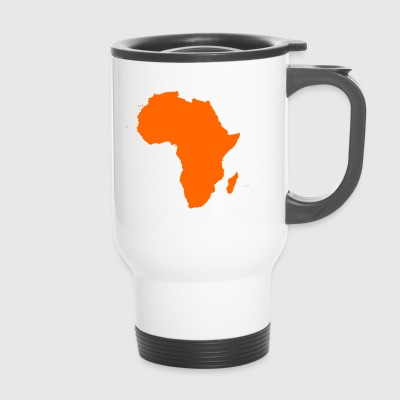 african map - Travel Mug