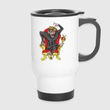 Bitcoin Monkey King - Beta Edition - Tazza termica