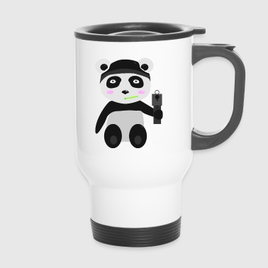 Gangsta-Panda - Thermobecher