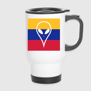 Ecuador country in South America Alien - Travel Mug