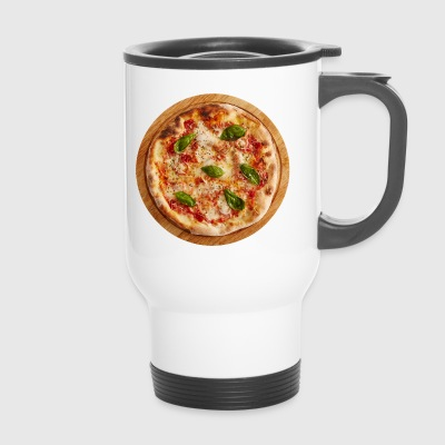 margherita nourriture pizza pizzeria manger - Mug thermos