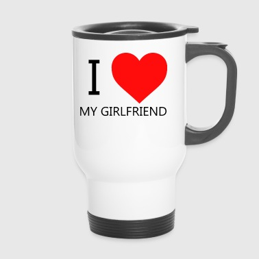 I LOVE MY GIRLFRIEND T-SHIRT - Thermo mok