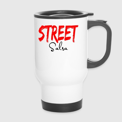 Street Salsa - Salsa Dance Shirts - Travel Mug