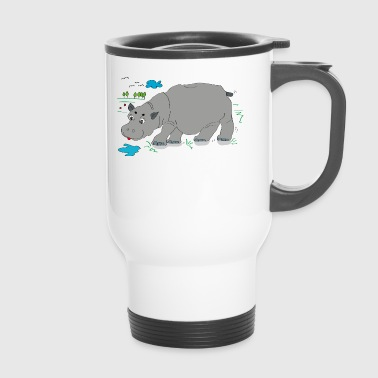Hippo meadow - Travel Mug