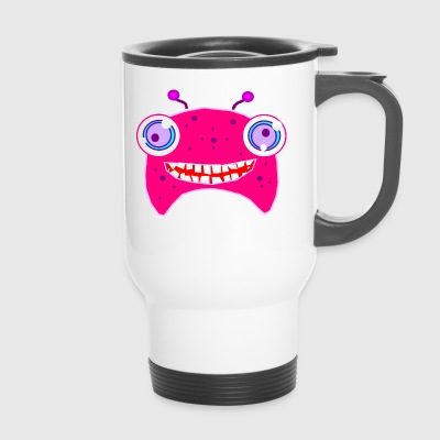 Crazy monster - Travel Mug